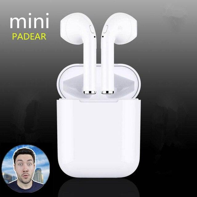 PADEAR Mini X 1/F10/I7s Bluetooth doble auriculares auricular inalámbrico aire auriculares Vainas para Iphone Android 6/7/8 X