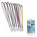 hot Rhinestone Crystal ID Badge Cellphone & Bling Custom Lanyard w/ Key Holder Ring Newest