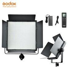 Za darmo DHL! Godox LED1000C Studio lampa wideo dla kamery kamera bezprzewodowy pilot zdalnego zmienne wersja 3300 K 5600 K