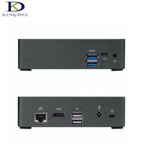 Kingdel продвижение мини настольный компьютер Core i7 6500U, HD Графика 520, hdmi 4 К LAN, USB3.0, mini itx pc F300