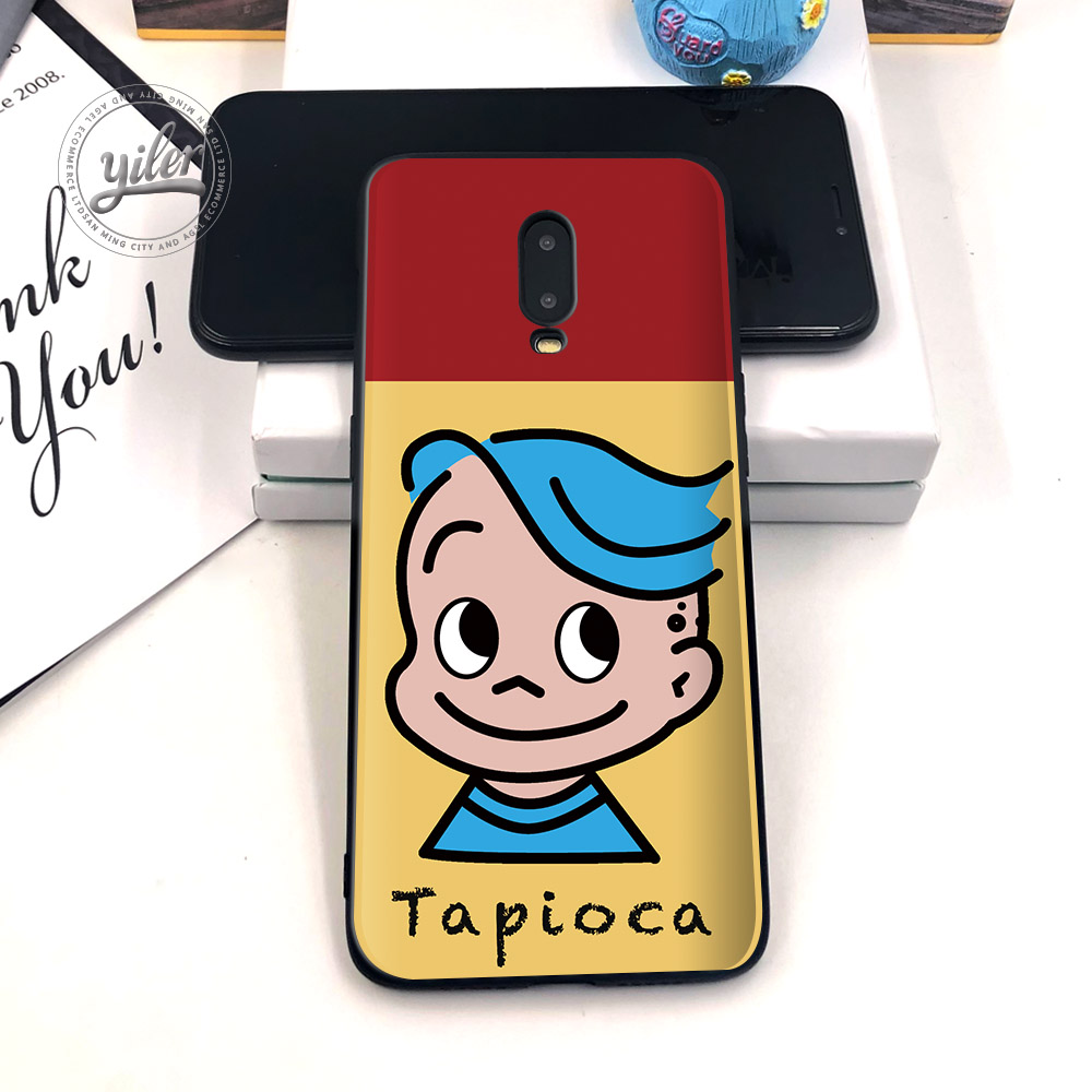Fashion Cute girls For Case Oneplus 6T 7 Black Cover Soft Silicone Case for Oneplus 7 6T Phone Cases for Oneplus 6T Coque Capa in Fitted Cases from Cellphones Telecommunications