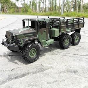 Image 5 - Mn 모델 mn77 1/16 2.4g 6wd rc 자동차 led 라이트 위장 군사 오프로드 rc 크롤러 자동차 원격 제어 트럭 rtr 완구