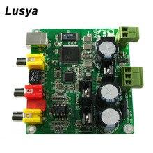 CM6631A + AKM4490 32BIT 384K Saída Coaxial USB DAC + Saída de Sinal Estéreo de Alta Fidelidade de Áudio Decodificador Bordo T0766