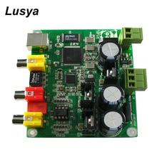 Cm6631a + akm4490 usb dac 32bit 384 k 동축 출력 + 스테레오 신호 출력 hifi 오디오 디코더 보드 t0766