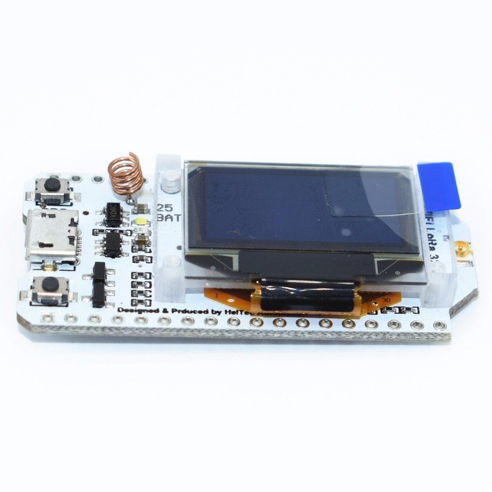 SX1278 LoRa ESP32 0.96 inch Blue OLED Display Bluetooth WIFI Lora Kit 32 Module Internet Development Board 433mhzSX1278 LoRa ESP32 0.96 inch Blue OLED Display Bluetooth WIFI Lora Kit 32 Module Internet Development Board 433mhz