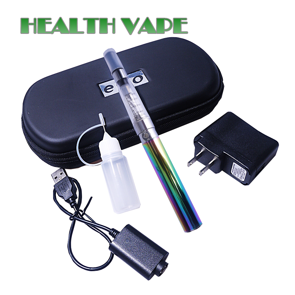Ego Ce4 e font b cigarette b font kit 900 1100mAh big zipper case Smoking hookah