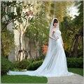 Veil 2017 Wedding Accessories  Bridal Veil 3 m*1.5 m Big trailing Choose to fast-track