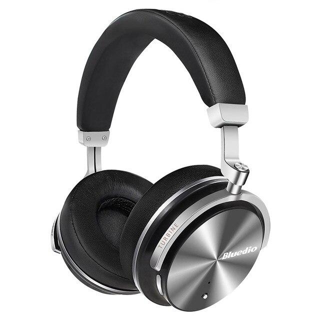 Оригинальный Bluedio T4S активного шумоподавления беспроводные Bluetooth наушники за ухо portale наушники для xiaomi телефона android