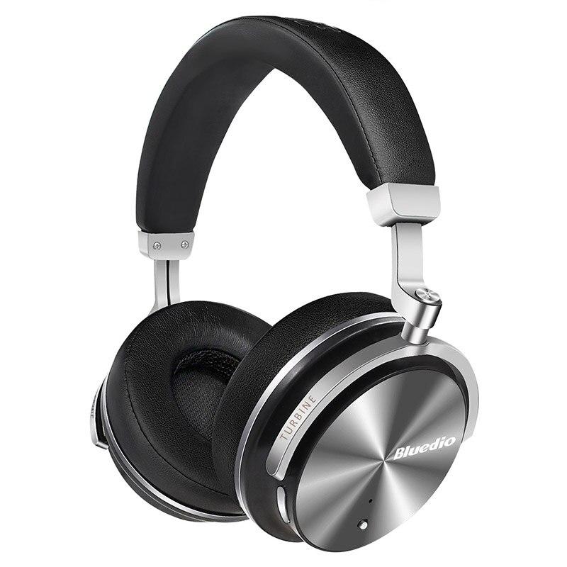 Original Bluedio T4S Cancelación de ruido activa auriculares inalámbricos Bluetooth over ear portale auriculares para xiaomi teléfono android