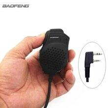 Baofeng Double PTT Haut Parleur Microphone Pour Baofeng UV 82 Radio Bidirectionnelle UV 82L UV 8D UV 89 UV 82HP Talkie walkie Accessoires