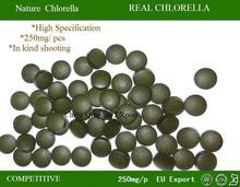 (250mg*400pcs)100g Organic Chlorella Vulgaris Chlorella Tablets 3.5oz 400pill Green alga Rich Chlorophyll Protein Free shipping