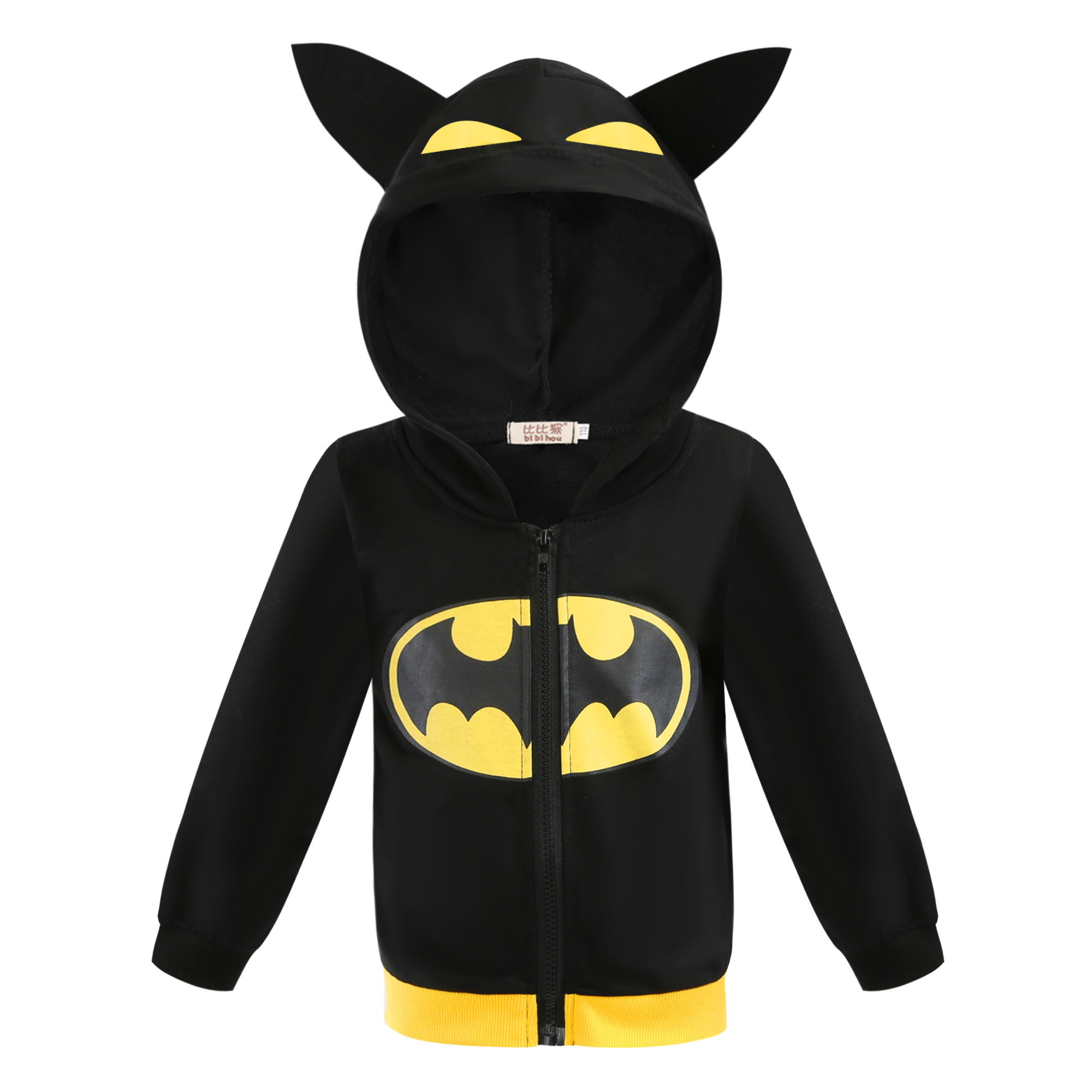 Spring Autumn Batman Coat Ninja Turtle Hoodies Children's Jacket Spider-Man Captain America Boys Zipper Jacket Boys Clothes