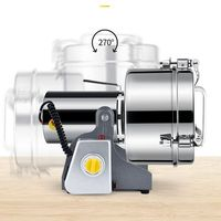 220V 2500g Electric Home Herb Grinder Coffee Beans Grain Milling Powder Machine High Quality