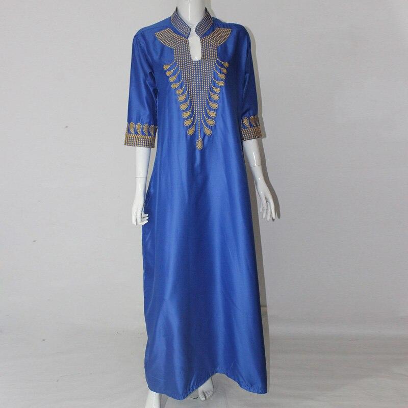 2016 Afrikaanse katoenen jurken voor vrouwen Top Bazin Afrikaanse - Traditionele kleding