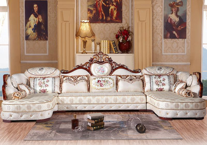 European Style Sofa Combination Simple