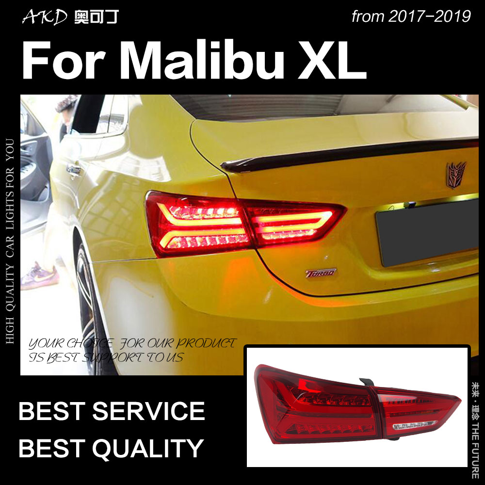 AKD Car Styling Tail Lamp For Chevrolet Malibu XL Tail