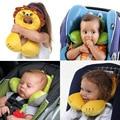 Carton Animals Wall Baby U Shape Neck Pillow Travel Pillow Newbrons Infant Car Seat Cushion For Kids Car Pillow Kawaii Headrest