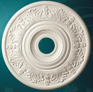 Top 10 largest ceiling roses decorations brands pu decorative ceiling rose pendent lamp ceiling plate european style aloadofball Images