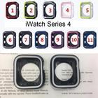 ★  Устойчивость к падению Мягкий силиконовый чехол Apple Watch серии iWatch 1234 Рамка крышки Полная за ①