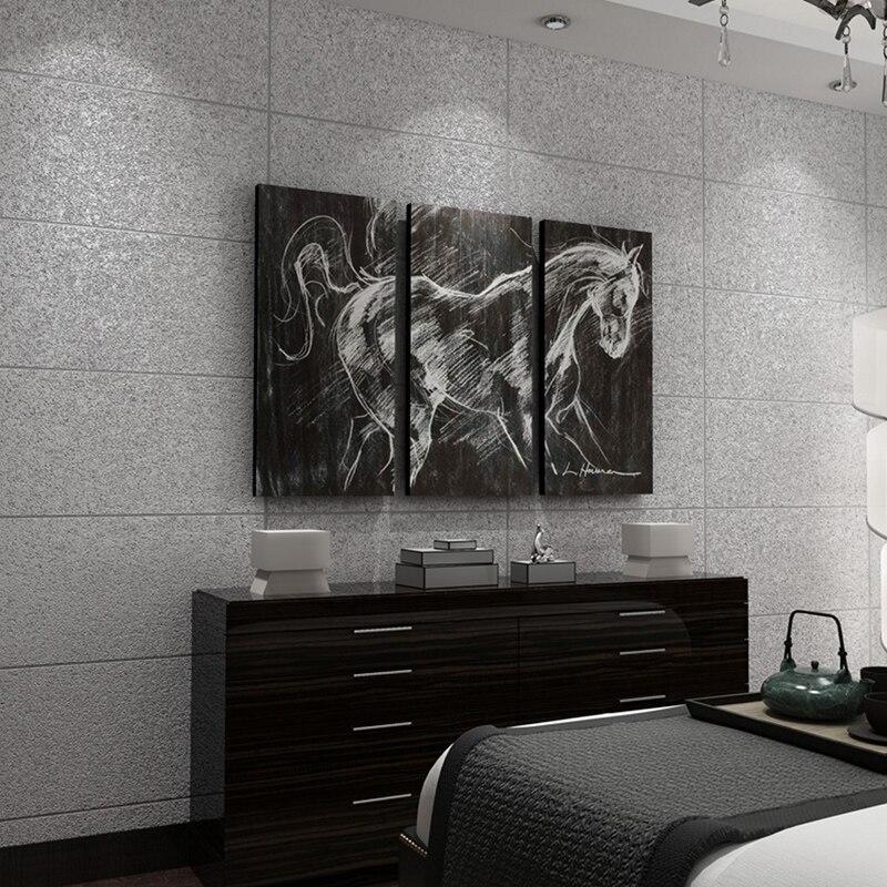 Moderne D Imitation Marmor Fliesen Gestreiften Tapete Vlies - Fliesen beflocken