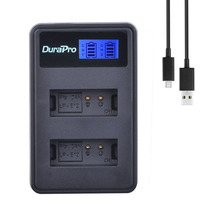 1pc LP E12 LP E12 LPE12 LCD USB Dual Battery Charger for Canon LP E12 Battery