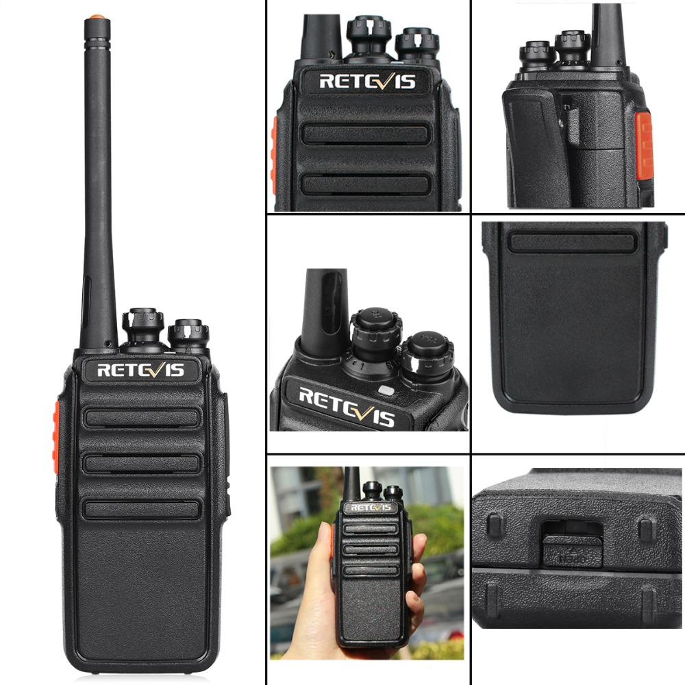 Image 5 - 2pcs Retevis H777S Walkie Talkie Radio 2W FRS UHF Radio Station VOX Scan Two Way Radio Portable HF Transceiver-in Walkie Talkie from Cellphones & Telecommunications