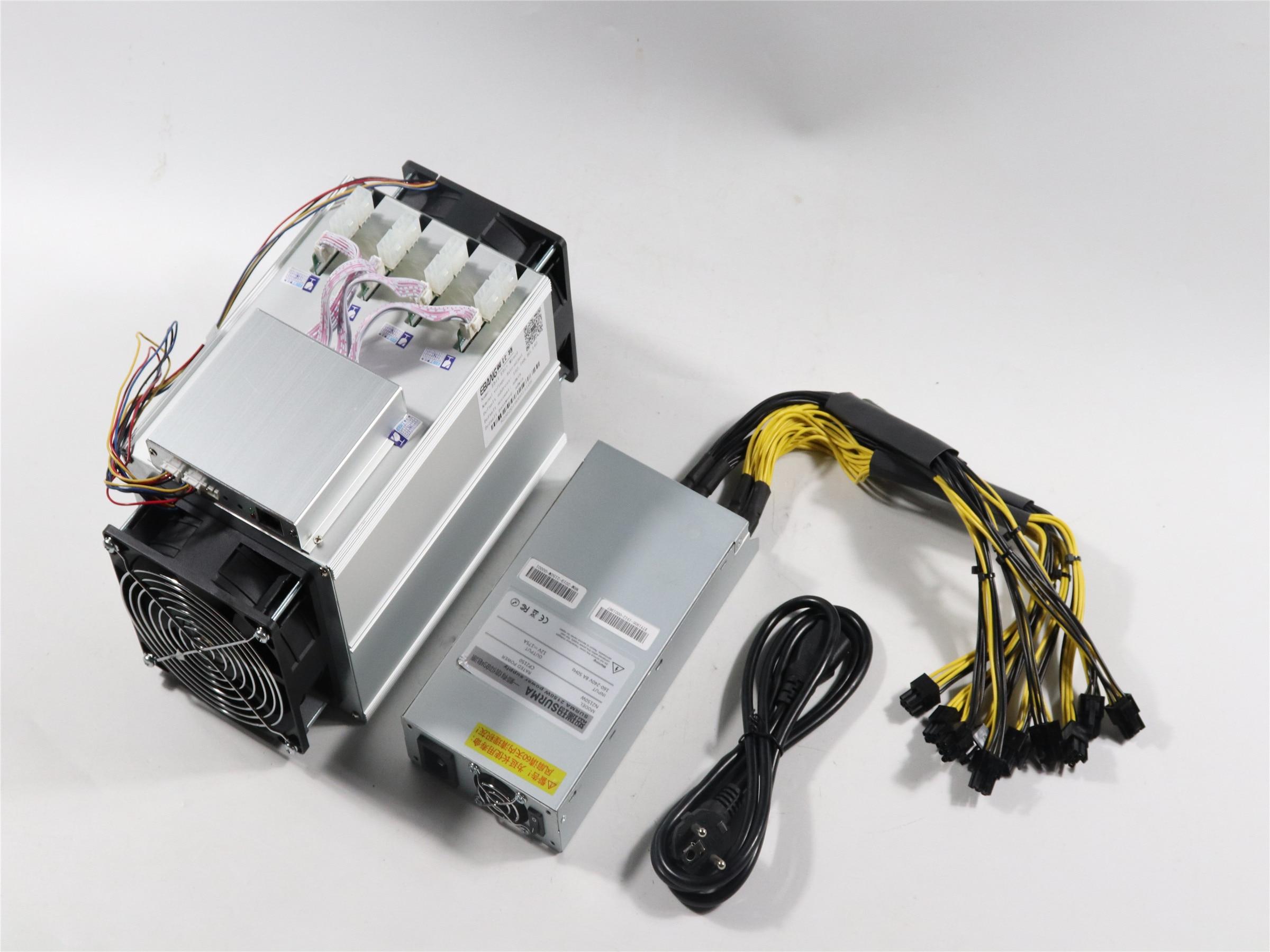 Utilisé Btc BCH Miner Ebit E9i 13.5t avec PSU économique que Antminer S9 S9j T9 + S11 Z9 what sminer M3
