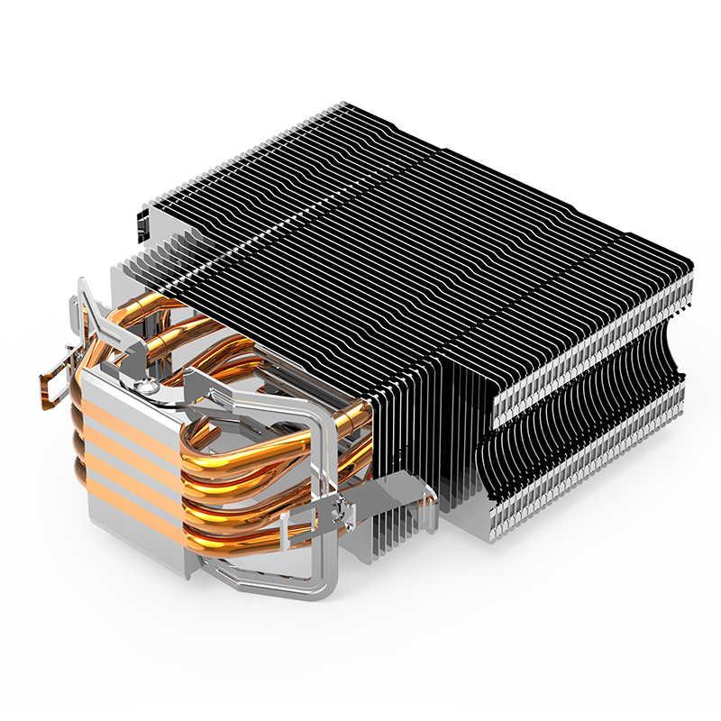 AIGO E3 4 أنابيب الحرارة وحدة المعالجة المركزية برودة ل AMD إنتل 775 1150 1151 1155 1156 وحدة المعالجة المركزية المبرد 120 مللي متر 4pin تبريد وحدة المعالجة المركزية مروحة PC هادئة