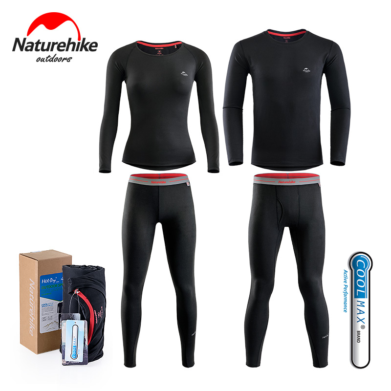 Unisex s Clothing Outdoor Sport Warm Underwears Long Johns Hot Dry Thermal Coolmax Quick Dry Breathable