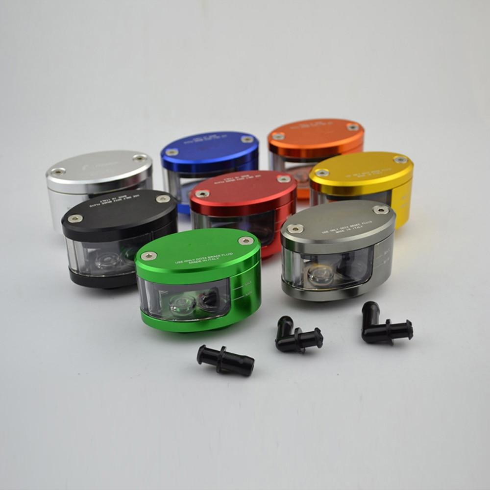 Oil-Cup Tank-Reservoir Pump-Fluid Clutch Brake Kawasaki Motorcycle Cnc Ducati Universal