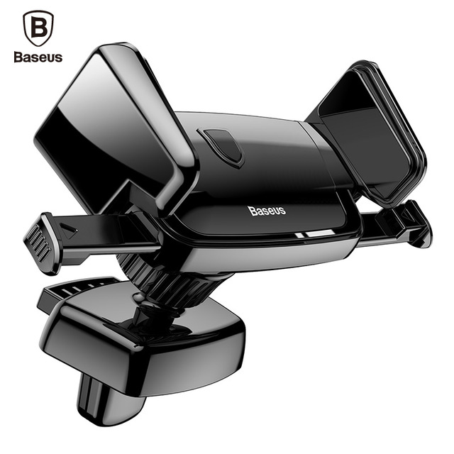 Baseus Phone Car Holder For iPhone Samsung Xiaomi Universal 360 Degree Air Vent Mobile Stand