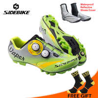 SIDEBIKE Mountain Bike Self-locking Shoes Bicycle Bike Shoes Professional Cycling Shoes sapatilha ciclismo mtb
