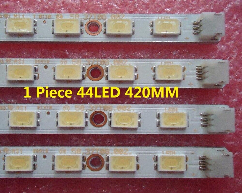 """חלקי חילוף לקטנועים LED37760X L37E5200BE LED רצועת 73.37T06.007-1-CS1 58.37T06.002 עבור Piece מסך T370HW04V.8 1 44LED 420 מ""""מ (1)"""