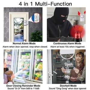 Image 5 - ワイヤレスドア磁気センサーアラームドアや窓オープンクローズアラームアラームキットスーパーマーケットコンビニエンスストア冷蔵庫