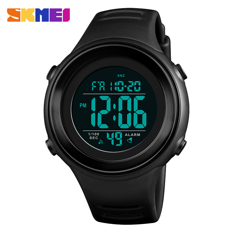 <font><b>SKMEI</b></font> <font><b>1394</b></font> Men Sports Watches Fashion Casual Men's Watch Digital Alarm 50M Waterproof Military Multifunctional Wristwatches image