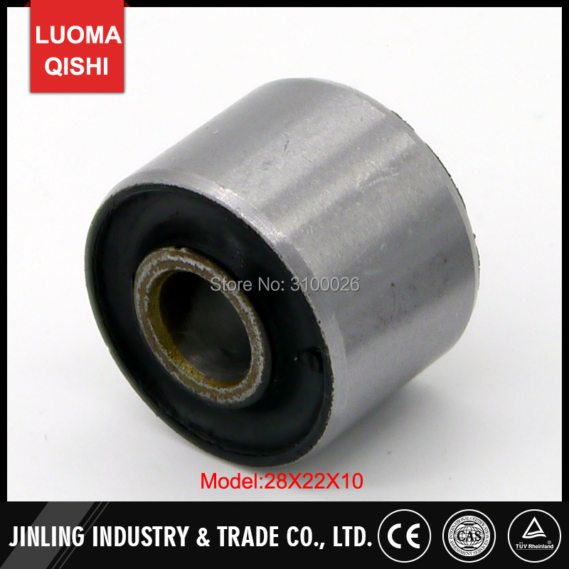 28x22x10mm 20x19x8mm Engine Mount Bushing Fit For Chinese GY6 150cc 200cc 157QMJ 161QML Scooter ATV UTV Go Kart Quad Bike Parts