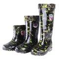 Rain boots male high rainboots waterproof shoes slip-resistant water rubber shoes work shoes knee-high plus velvet rainboots
