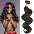 Eurasian Virgin Hair Body Wave Gluna Human Hair Company 100% Remy Human Hair Sew In Extensions 2Pcs Eurasian Wavy Mario Hair