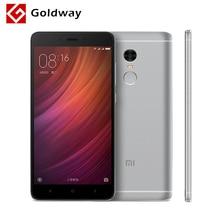 """Original Xiaomi Redmi Nota 4 Pro Primer Teléfono Móvil MTK Helio X20 Deca Core 5.5 """"IDENTIFICACIÓN de Huellas Dactilares de FHD 3 GB RAM 64 GB ROM MIUI 8(Hong Kong)"""
