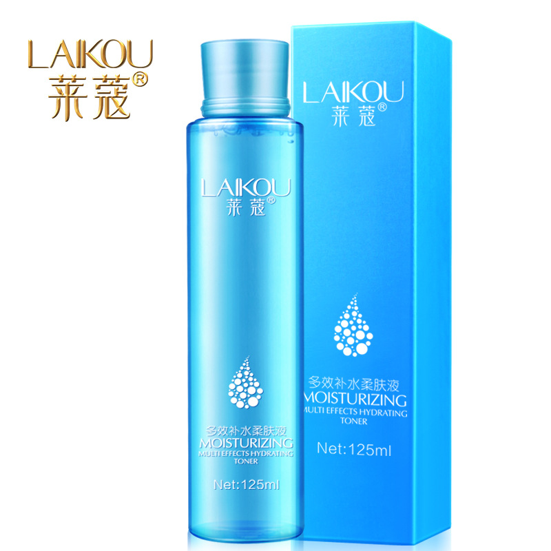LAIKOU Deep Nourish Clear Toner Hyaluronic Acid Hydrating Whitening Oil-Control Acne Treatment Black Head Anti Wrinkle Skin Care