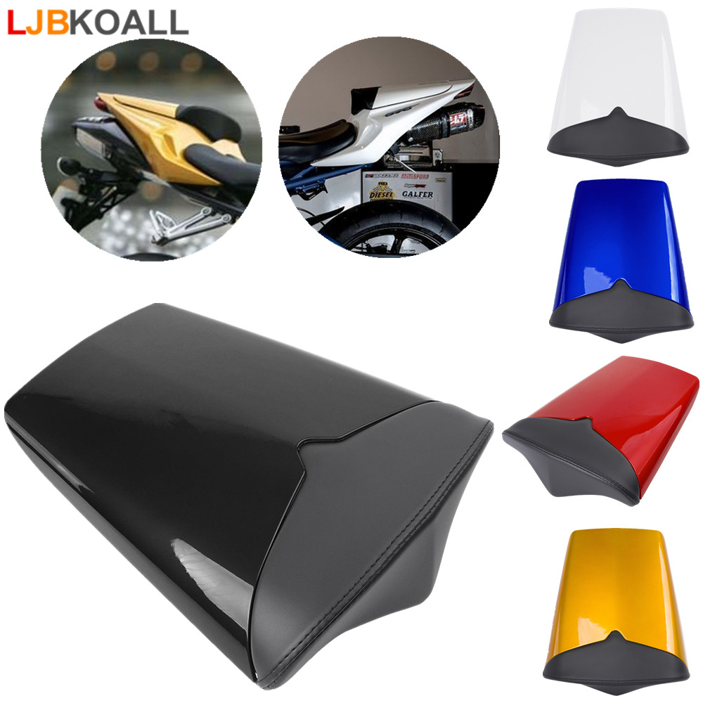High Quality ABS Plastic Passenger Rear Pillion Seat Cowl Cover Fairing For 2009 2012 Triumph Daytona