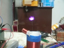 tesla coil amazing flashing Generator Teaching experiment