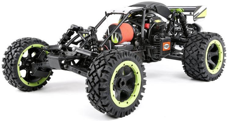 1/5 échelle Rovan Racing q-baja 29cc moteur à essence 2WD Buggy voiture Rc