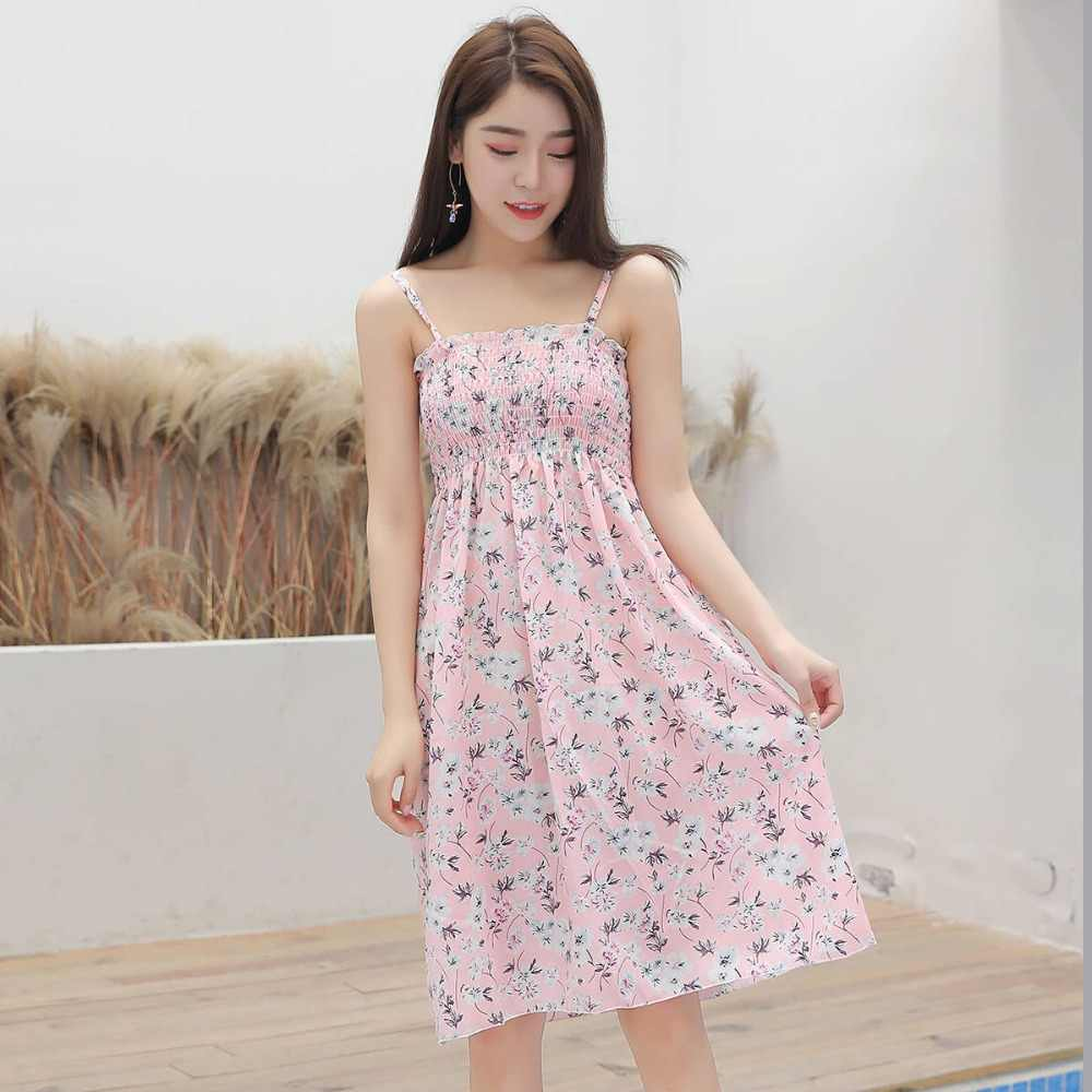 ab0165ead7c11 Detail Feedback Questions about Casual Summer Flower Dress Women ...