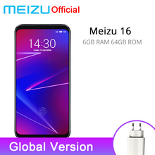 Official Global Version Meizu 16 6GB 64GB Snapdragon 710  6-inch 2160x1080P Front 20MP 3100 mAh In-Screen Fingerprint(China)