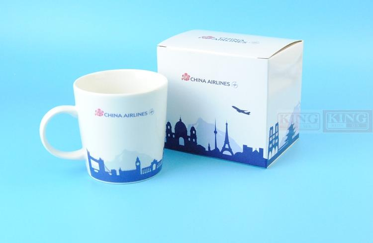 New: China Airlines official Gift Mug capacity 300CC white / Black commercial jetliners plane model hobby термокружка emsa travel mug fun 0 36l white black 514176