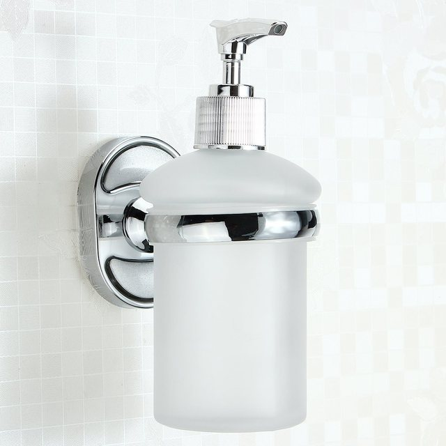 Wall Mounted Liquide Mural Kitchen Shampoo Shower Soap Dispenser Hand  Liquid Soap Dispenser For Bathroom Washroom