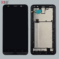 5 5 1920x1080 LCD Display Glass Panel Touch Screen Digitizer Assembly With Frame For ASUS Zenfone