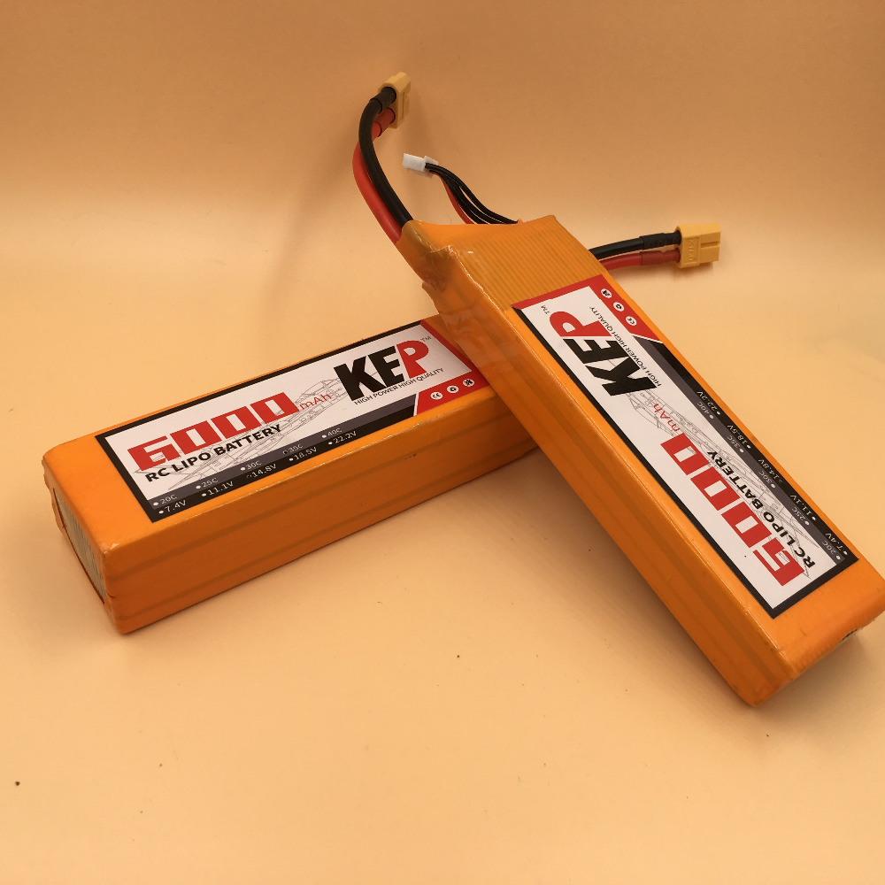KEP 5S RC LiPo Battery 18.5v 6000mAh 40C For RC Aircraft Helicopters Quadcopter Boats Drones Cars Li-Polymer Batteria 5S AKKU 1s 2s 3s 4s 5s 6s 7s 8s lipo battery balance connector for rc model battery esc