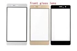 Внешний стеклянный объектив 10 шт./лот для Huawei P9, P9 Plus, P9 Lite сенсорный экран передняя стеклянная панель запасные части